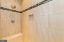 Oversized shower with custom tile - 6823 W SHAVANO, NEW MARKET