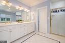 Owners Bathroom - 3601 SURREY DR, ALEXANDRIA
