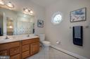 Hall Bathroom - 3601 SURREY DR, ALEXANDRIA