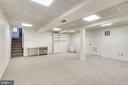 4th Lower level playroom plus workshop behind the - 4702 DECLARATION CT, ANNANDALE