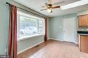 Breakfast Room. Tiled floor. Huge bay window, - 4702 DECLARATION CT, ANNANDALE