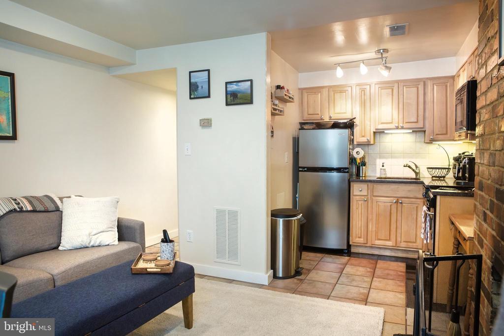Lower Unit Living Room West - 726 6TH ST NE, WASHINGTON