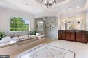 Master Bathroom w. Separate Vanities, Steam genera - 8334 ALVORD ST, MCLEAN