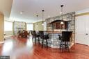 Vast sun filled Basement with Outdoor Terrace - 8334 ALVORD ST, MCLEAN