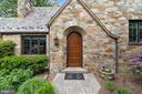 Arched Entry Door with Character and Charm - 9510 THORNHILL RD, SILVER SPRING