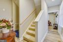 Downstairs stairway/Hall offers additional storage - 432 W SOUTH ST, FREDERICK
