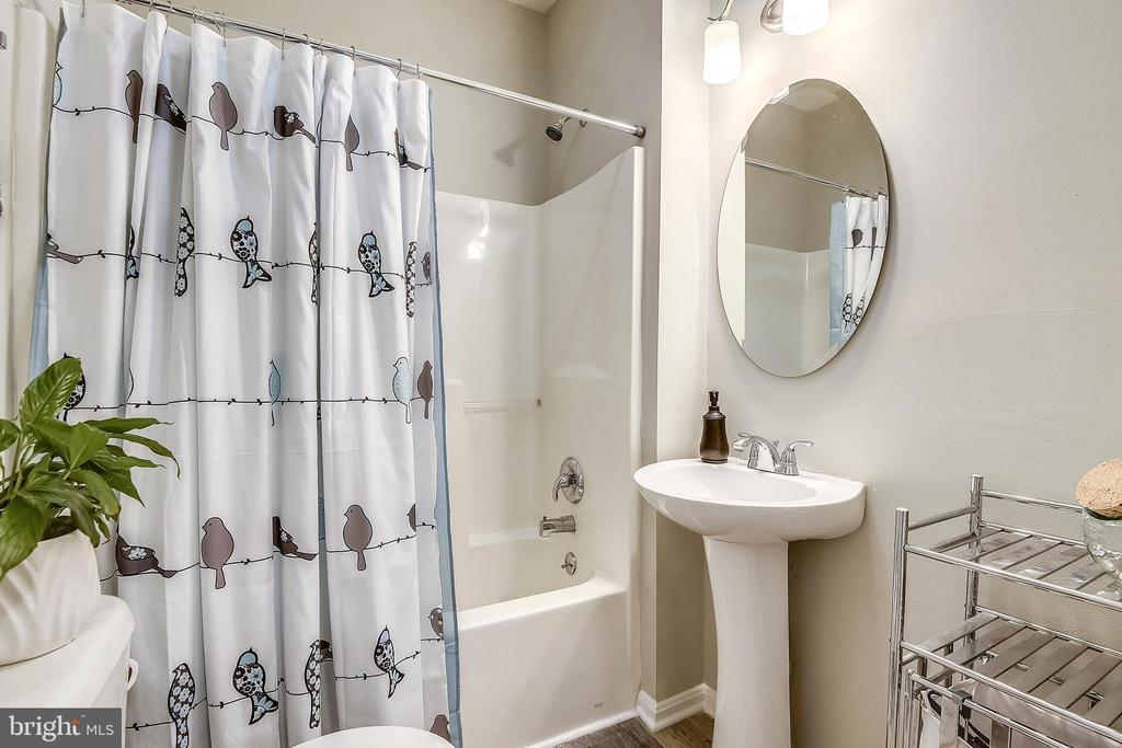 Beautifully updated Lower Level Full Bathroom - 432 W SOUTH ST, FREDERICK