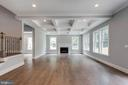 Vaulted High Ceilings in Family Room - 7411 NIGH RD, FALLS CHURCH