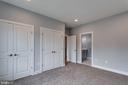 Jack & Jill Bedroom 2 w/ Double door Closet - 7411 NIGH RD, FALLS CHURCH