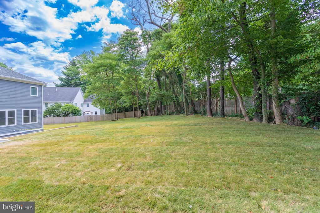 Exterior Backyard - 7411 NIGH RD, FALLS CHURCH