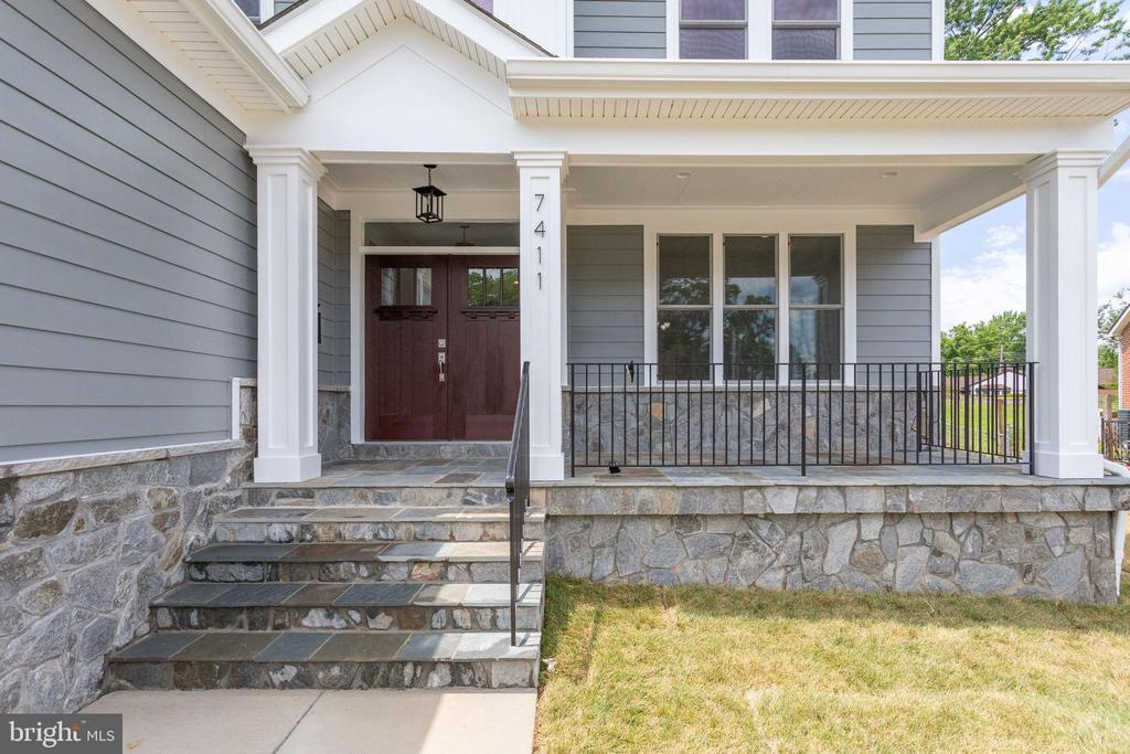 Front of House - 7411 NIGH RD, FALLS CHURCH