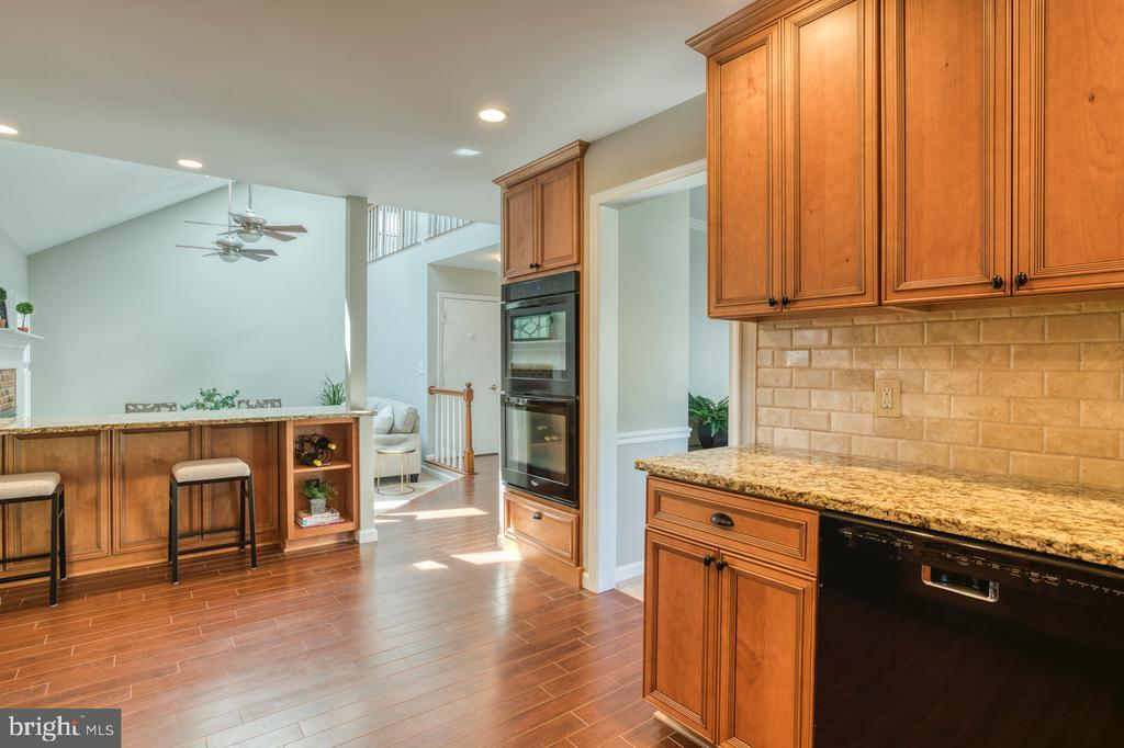 Open floorplan - 3619 ELDERBERRY PL, FAIRFAX