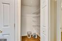 Large storage closet will pull down attic stairs - 3603 KEOTA ST, ALEXANDRIA