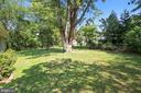 Rear yard - 3603 KEOTA ST, ALEXANDRIA