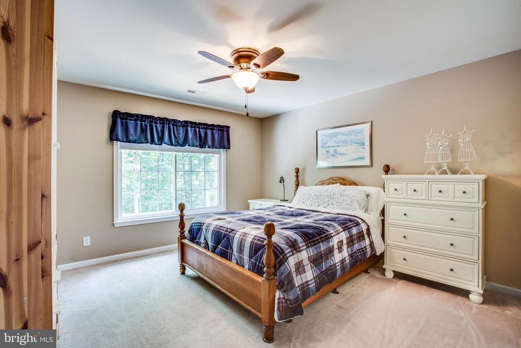 Bedroom 3 upstairs - 9101 SNOWY EGRET CT, SPOTSYLVANIA
