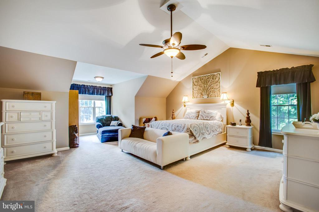 Owners suite is large and a lovely getaway - 9101 SNOWY EGRET CT, SPOTSYLVANIA