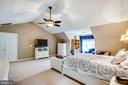 Owners Suite features cathedral ceilings - 9101 SNOWY EGRET CT, SPOTSYLVANIA