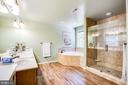 Updated Owners bathroom - 9101 SNOWY EGRET CT, SPOTSYLVANIA