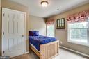 Bedroom 4 upstairs - 9101 SNOWY EGRET CT, SPOTSYLVANIA