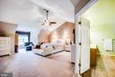 Owners suite - 9101 SNOWY EGRET CT, SPOTSYLVANIA