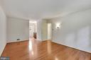 Master Br with hardwood floors - 5038 DEQUINCEY DR, FAIRFAX