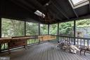 Screened in Porch - 4025 N ABERDEEN ST, ARLINGTON