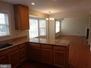 View from Kitchen to Family Room - 103 ENGLISH CT SW, LEESBURG