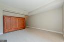 Murphy bed tucked away when not in use - 555 MASSACHUSETTS AVE NW #202, WASHINGTON