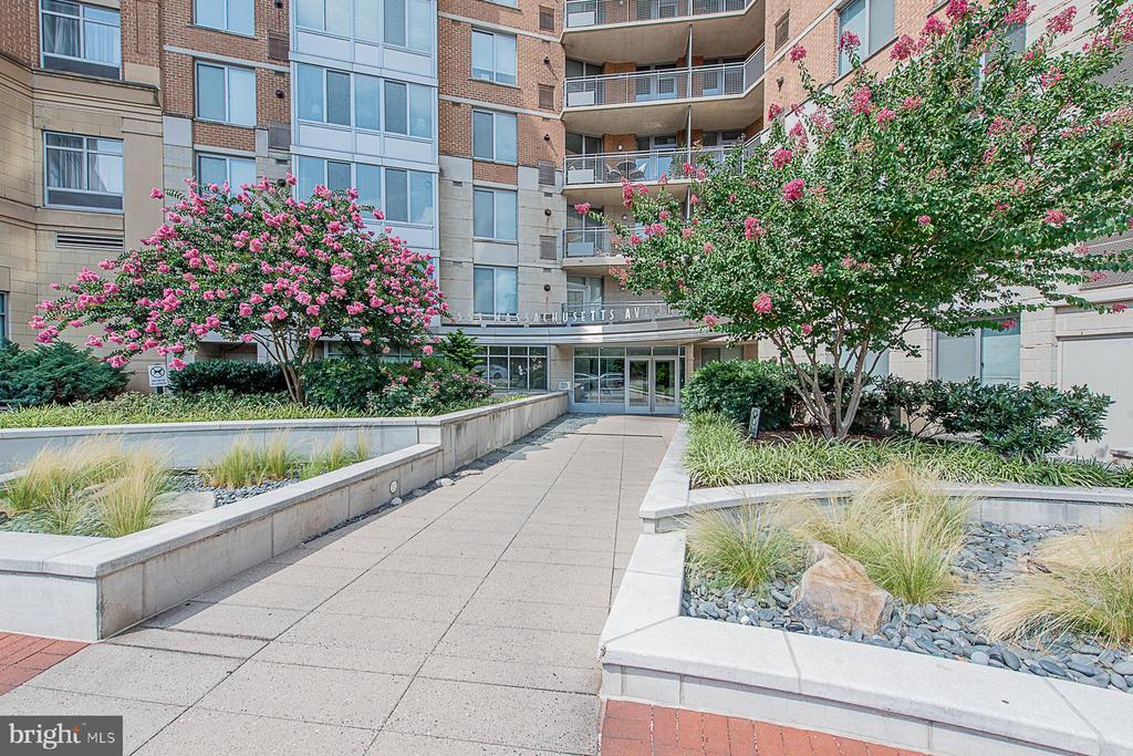Beautiful landscaping - 555 MASSACHUSETTS AVE NW #202, WASHINGTON