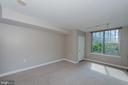 Generous size living area - 555 MASSACHUSETTS AVE NW #202, WASHINGTON