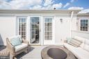 Convenient Seating Area on Roof Terrace - 12197 CHANCERY STATION CIR, RESTON