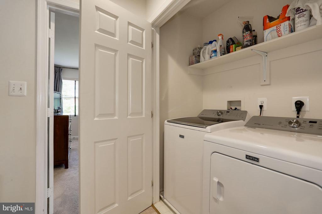 Upstairs Laundry Area - 12197 CHANCERY STATION CIR, RESTON