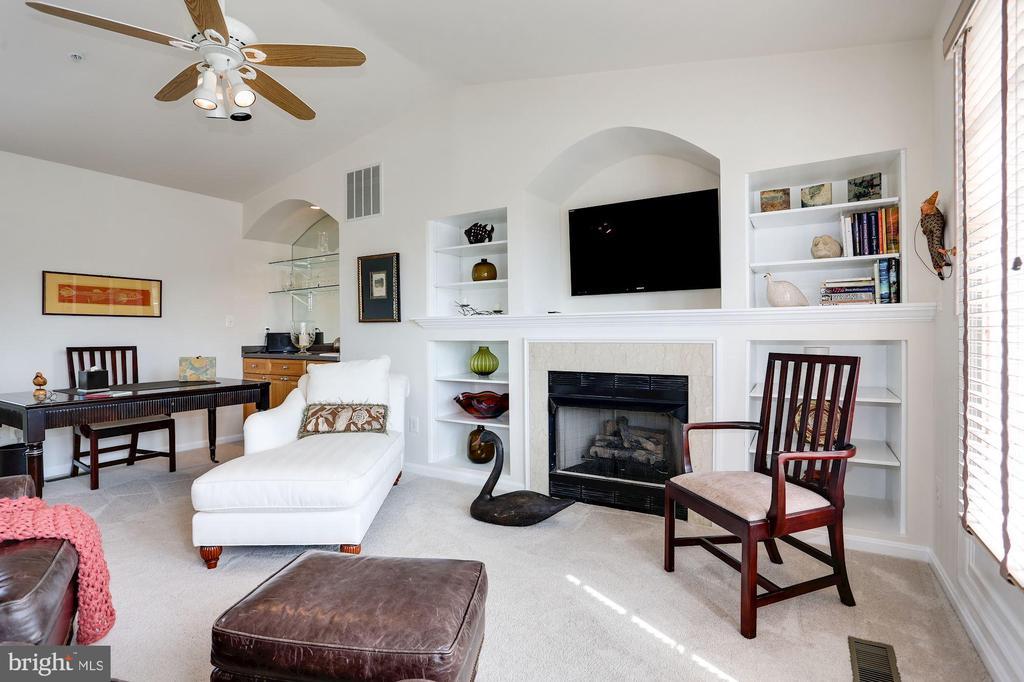 Loft Area with Fireplace - 12197 CHANCERY STATION CIR, RESTON