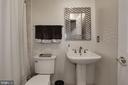Lower Level Full Bath - 12197 CHANCERY STATION CIR, RESTON