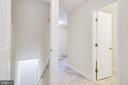 Door From Main Foyer to Basement - 4915 KING SOLOMON DR, ANNANDALE