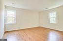 Owner Bedroom - Back of the House - 4915 KING SOLOMON DR, ANNANDALE