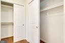Two Hall Closets Outside Ensuite Bathroom - 4915 KING SOLOMON DR, ANNANDALE