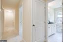 Linen Closet and Hall Bath - 4915 KING SOLOMON DR, ANNANDALE