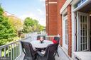 Great Views from Kitchen Deck - 12197 CHANCERY STATION CIR, RESTON