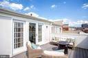 Roof Top Terrace with Access From Loft Area - 12197 CHANCERY STATION CIR, RESTON