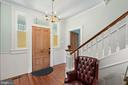 Huge Bright Foyer - 301 W ASHER ST, CULPEPER