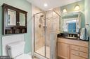 Renovated Master Bath - 301 W ASHER ST, CULPEPER