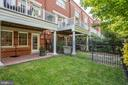 Private Fenced Yard With Brick Patio - 12197 CHANCERY STATION CIR, RESTON