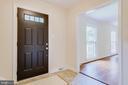 Foyer to Living Room - 4915 KING SOLOMON DR, ANNANDALE