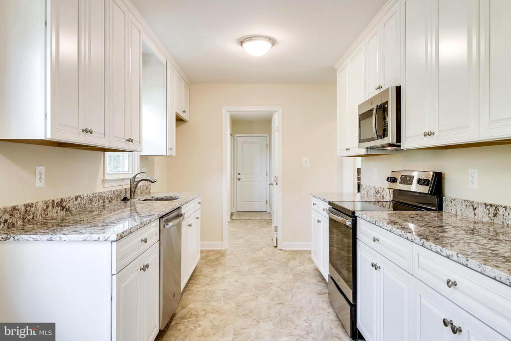 Kitchen from Dining Room-Eat in Space to Left - 4915 KING SOLOMON DR, ANNANDALE