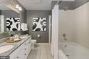Sophisticated master bath - 3650 S GLEBE RD #238, ARLINGTON