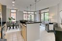 Kitchen open to entertaining areas - 3650 S GLEBE RD #238, ARLINGTON