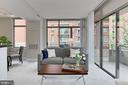 2  Balconies for extra outdoor space - 3650 S GLEBE RD #238, ARLINGTON