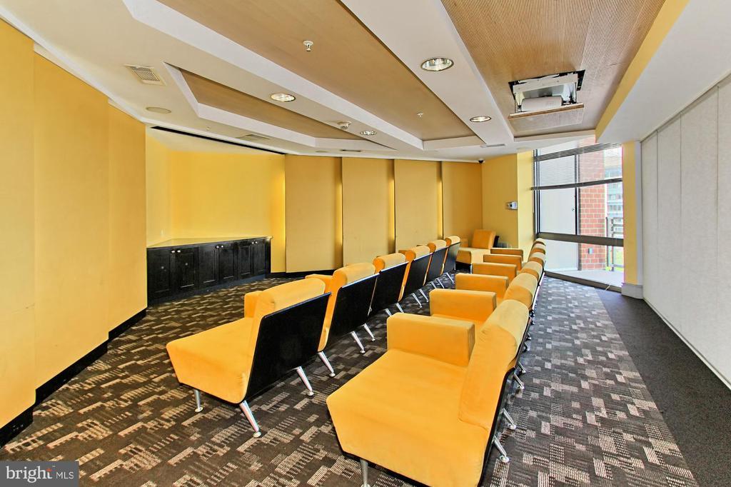 Private screening room - 3650 S GLEBE RD #238, ARLINGTON