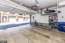 Spacious 2 car garage - 603 SLADE CT, ALEXANDRIA